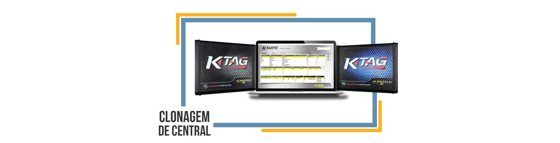 Central Eletrônica: Clonagem com o K-tag
