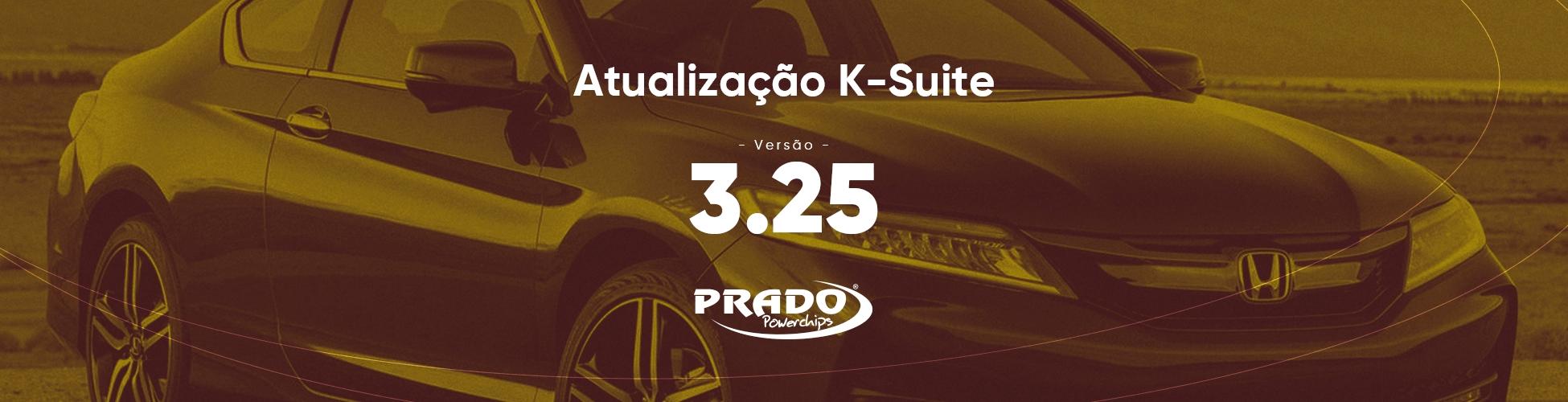 Atualização do K-suite 3.25