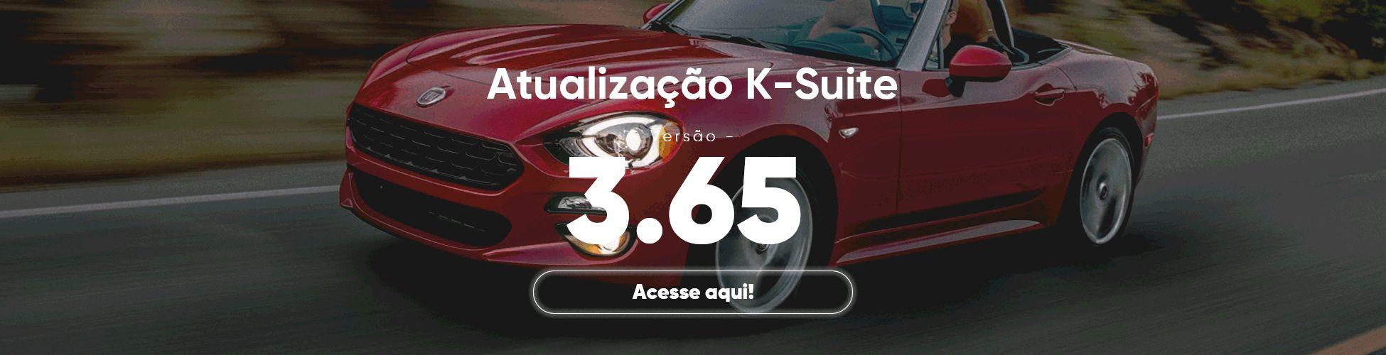 Atualização K-Suite 3.65